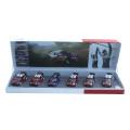 CITROEN(シトロエン)ギフトコレクション Miniature Car 1/43  WRC 6台セット AMC019022