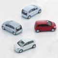 フォルクスワーゲン【VW】純正アクセサリー up!ミニカー 1:87 4ドア シルバー