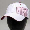 フィアット FIATキャップ (FIATロゴ/ホワイト) /a03331347 純正品番:50907185