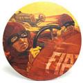 """フィアット FIAT""""Mefistofele""""グラフィックマウスパッド /a03331357 純正品番:50907340"""