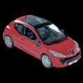 プジョー 207 1/43ミニチュアカー /a00530928 純正品番:08LECO909