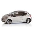 プジョー 208(3ドア/アイスベルベット) 1/43ミニチュアカー  /a00530937 純正品番:12LECO903