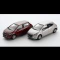 プジョー 208  3inchミニチュアカー (5ドア) 2台セット /a00530953 純正品番:12LETR902