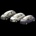 プジョー 208  3inchミニチュアカー (3ドア) 3台セット /a00530955 純正品番:12LETR903