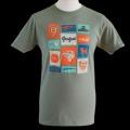 プジョー Tシャツ ユニセックス カーキ  /a00530957