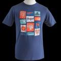 プジョー Tシャツ ユニセックス 紺  /a00530960
