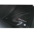 アウディ(Audi) 純正 S/RSモデル専用フロアマット プレミアムスポーツ ブラック S3/RS3 J8VBM5R14PSS01