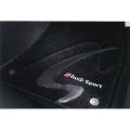 Audi純正 アウディ S8純正 フロアマット プレミアムスポーツ J4HBM5R14PSS01 ブラック、シルバー&レッド / a03731968