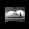 プジョー208 LEDバルブ リアライセンスプレートランプ用 00530744 純正品番:LEDL03