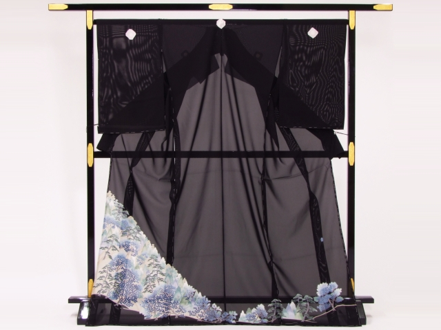 駒絽夏留袖