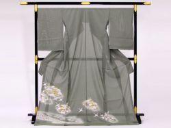 夏駒絽色留袖
