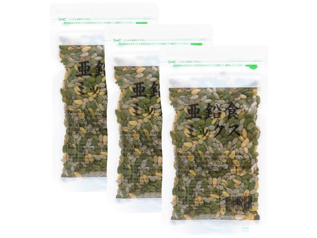 亜鉛食ミックス360g(パンプキンシード、松の実、ひまわりの種・5,400円以上で送料無料・沖縄県を除く)