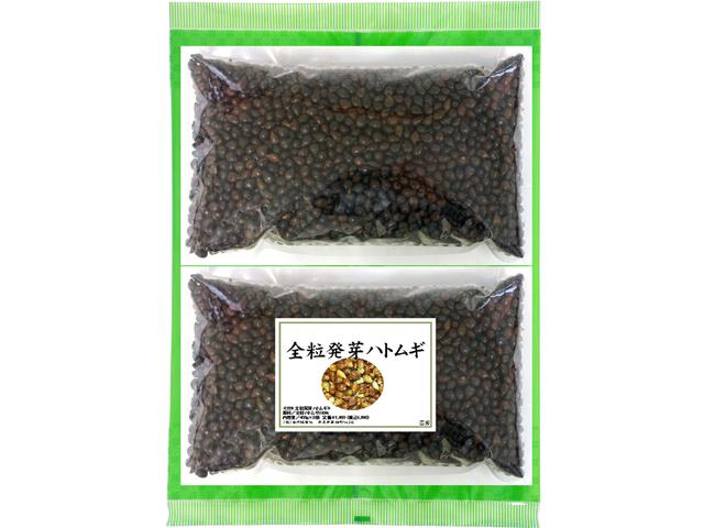 国産・全粒発芽ハトムギ茶400g×2袋(5,400円以上で送料無料・沖縄県を除く)