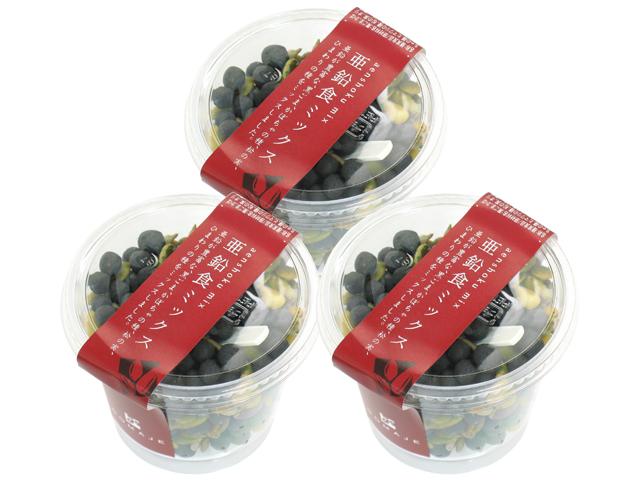 亜鉛食ミックス・カップ130g×3個(5,400円以上で送料無料・沖縄県を除く)