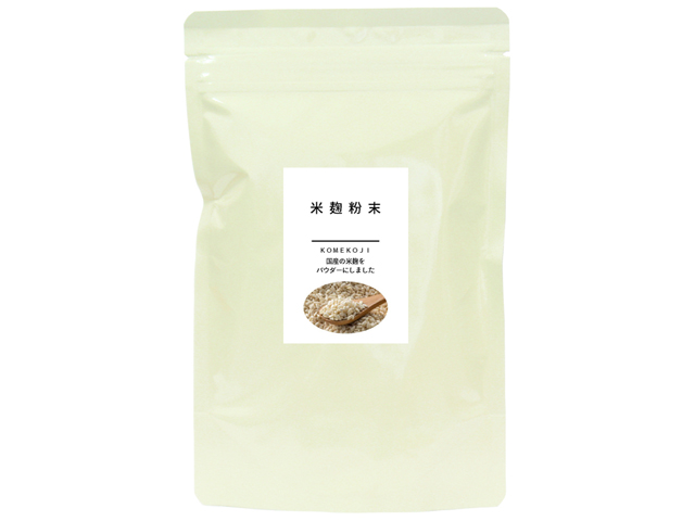 国産 米麹粉末200g(5,400円以上で送料無料・沖縄県を除く)
