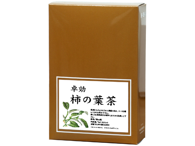 国産・柿の葉茶5g×30パック(柿葉茶・5,400円以上で送料無料・沖縄県を除く)