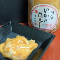 塩辛ビン入り(明太風) 180g【クール便(冷凍)】