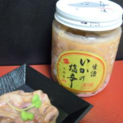 塩辛ビン入り(生漬) 180g【クール便(冷凍)】