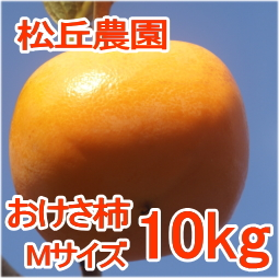 おけさ柿Mサイズ10kg[松丘農園]