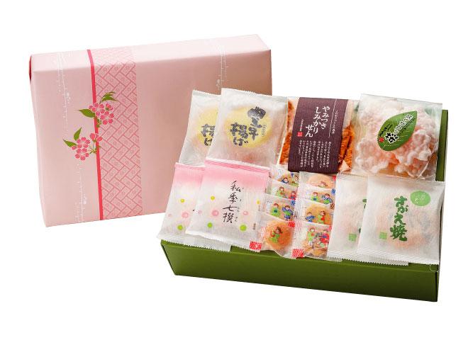 春限定 お煎餅6種詰合せ 春の詰合せ HTS30 3000円(税込)