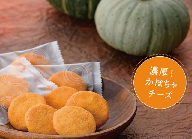 【季節限定】秋の味覚かぼちゃチーズ 100g入り