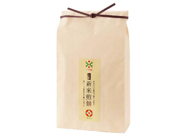 新米袋 山形県のブランド米「つや姫」と「雪若丸」の新米を使ったおせんべい4種20袋入り 1458円
