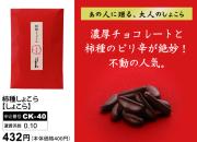 柿種しょこら・しょこら 濃厚チョコレートと柿の種のピリ辛が絶妙