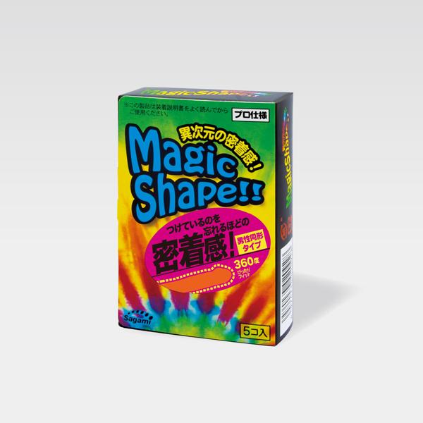 世界初、上下非対称コンドーム!マジックシェイプ500
