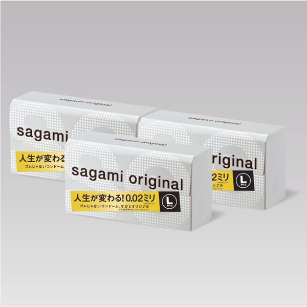 サガミオリジナル002 Lサイズ 12コ入×3箱セット