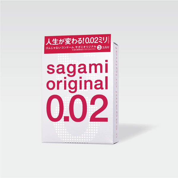 サガミオリジナル002 3コ入パッケージ画像