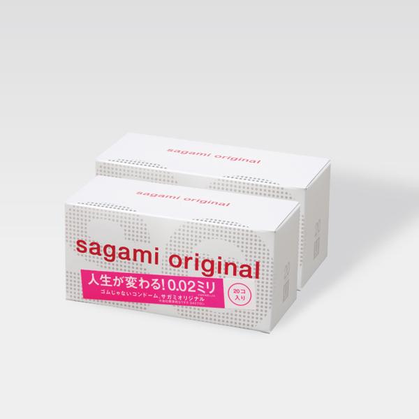 サガミオリジナル002 20個入×2箱セット