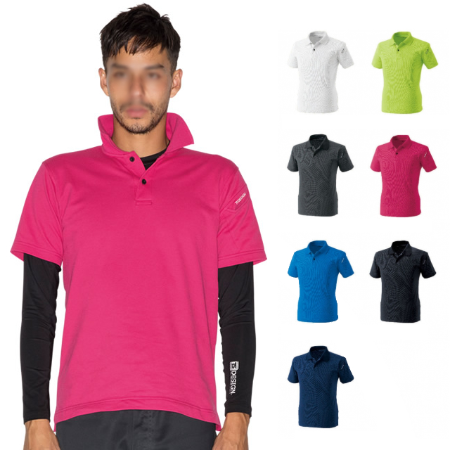 4065 TOWA 半袖ポロシャツ