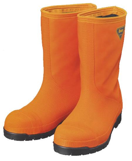 NR031 冷蔵庫長靴-40℃ オレンジ