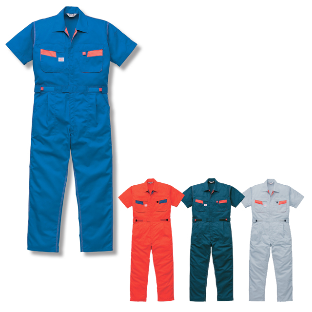1-8301 AUTO-BI 半袖つなぎ服