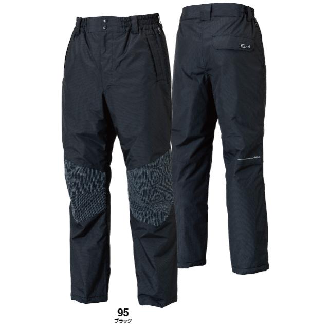 18242 TOWA(藤和)TS DESIGN メガヒート ES 防水防寒パンツ (ブラック)