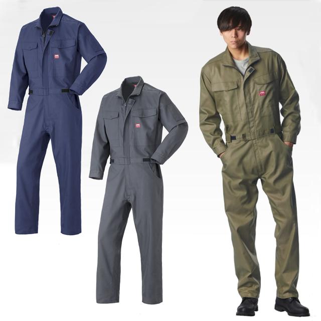 31-81010 EDWIN 長袖つなぎ服