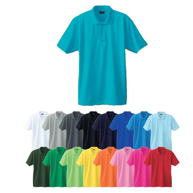 50396 SOWA 半袖ポロシャツ(胸ポケット無し)