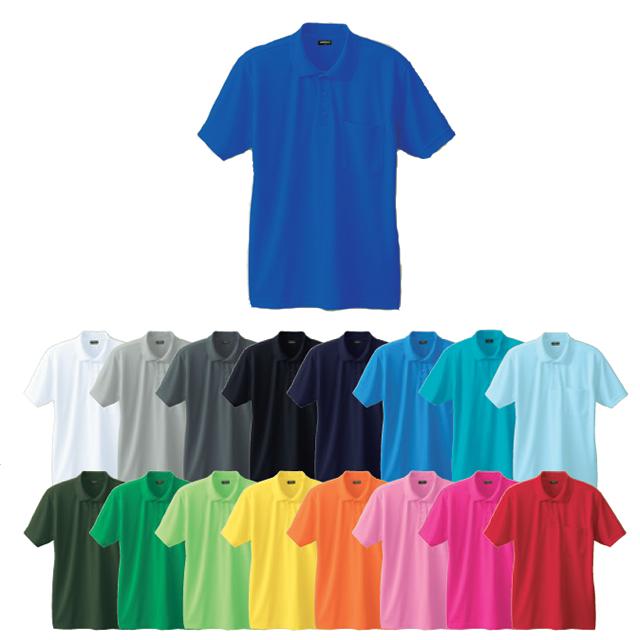 50397 SOWA 半袖ポロシャツ(胸ポケットあり)