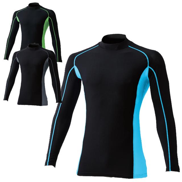 50618 SOWA 冷感長袖サポートハイネックシャツ