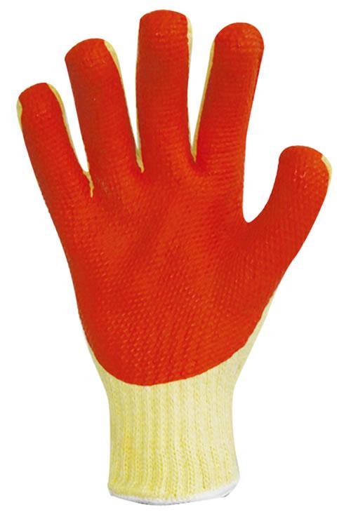 ゴム張り手袋
