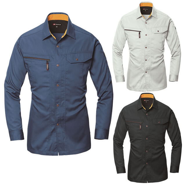6033 BURTLE 長袖シャツ