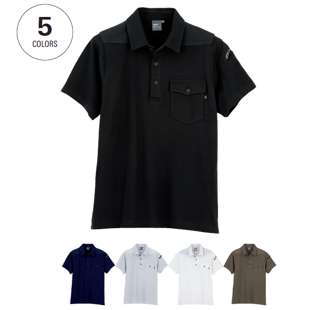 6050 XEBEC 半袖ポロシャツ