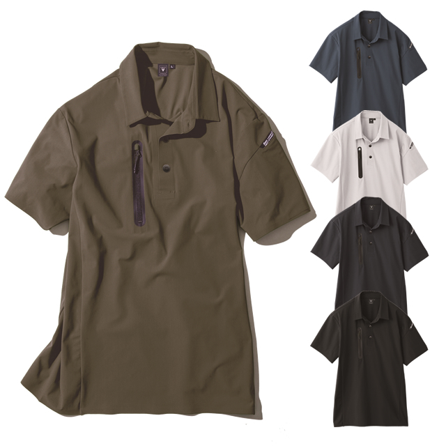 6060 XEBEC 半袖ポロシャツ