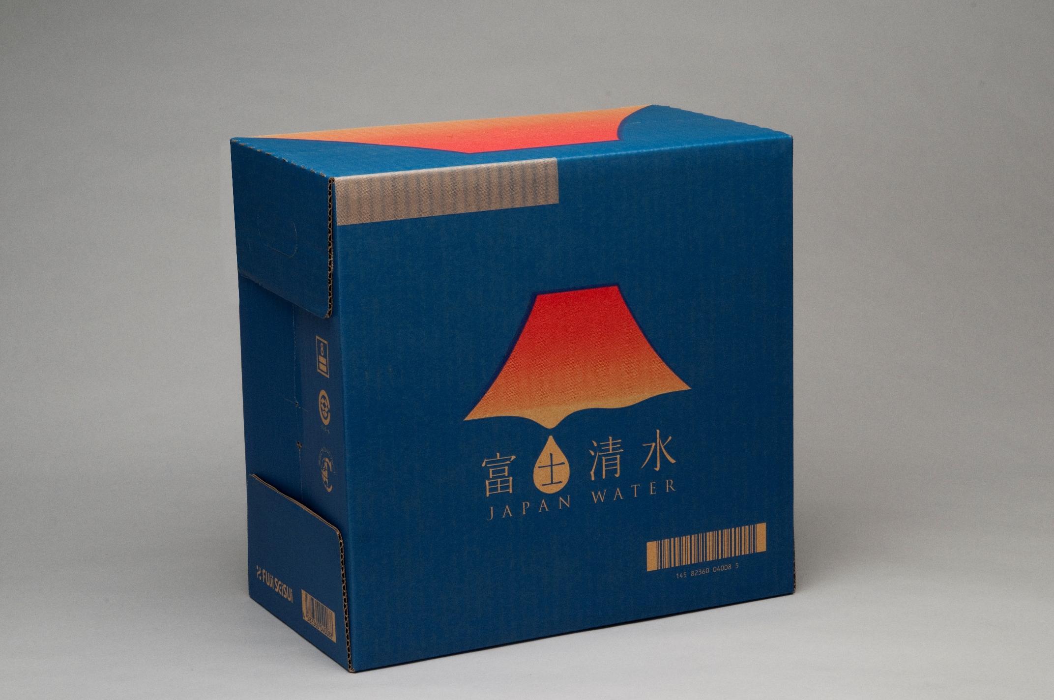 ミツウロコビバレッジ 富士清水 JAPAN WATER 富士山のバナジウム天然水 2L×6本×2箱セット 送料無料