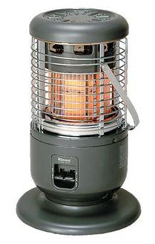 リンナイ RINNAI ガス赤外線ストーブ R‐891VMS3(A) 全周放射タイプ 送料無料