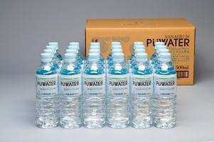 ミツウロコビバレッジ ミネラルウォーター 天然水 超軟水 PUWATER ピューウォーター 500ml×24本×2箱 送料無料