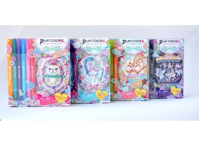 ECONECOキャラ缶ケース付  「プレイカラーKスペシャルセット」