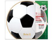 ミドリ/カラー色紙 丸形/サッカーボール柄