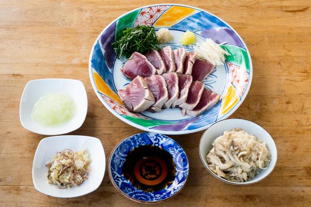 【送料込】 生鮮便第75回 秋がいっぱい カツオのたたき・舞茸ご飯