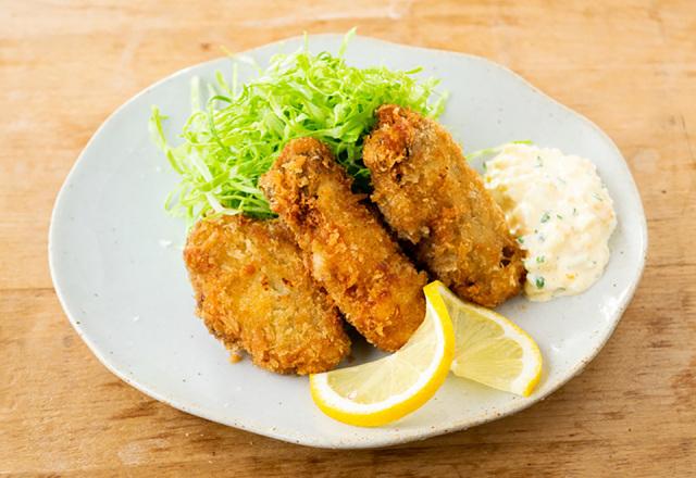 新牡蠣フライ(6個)